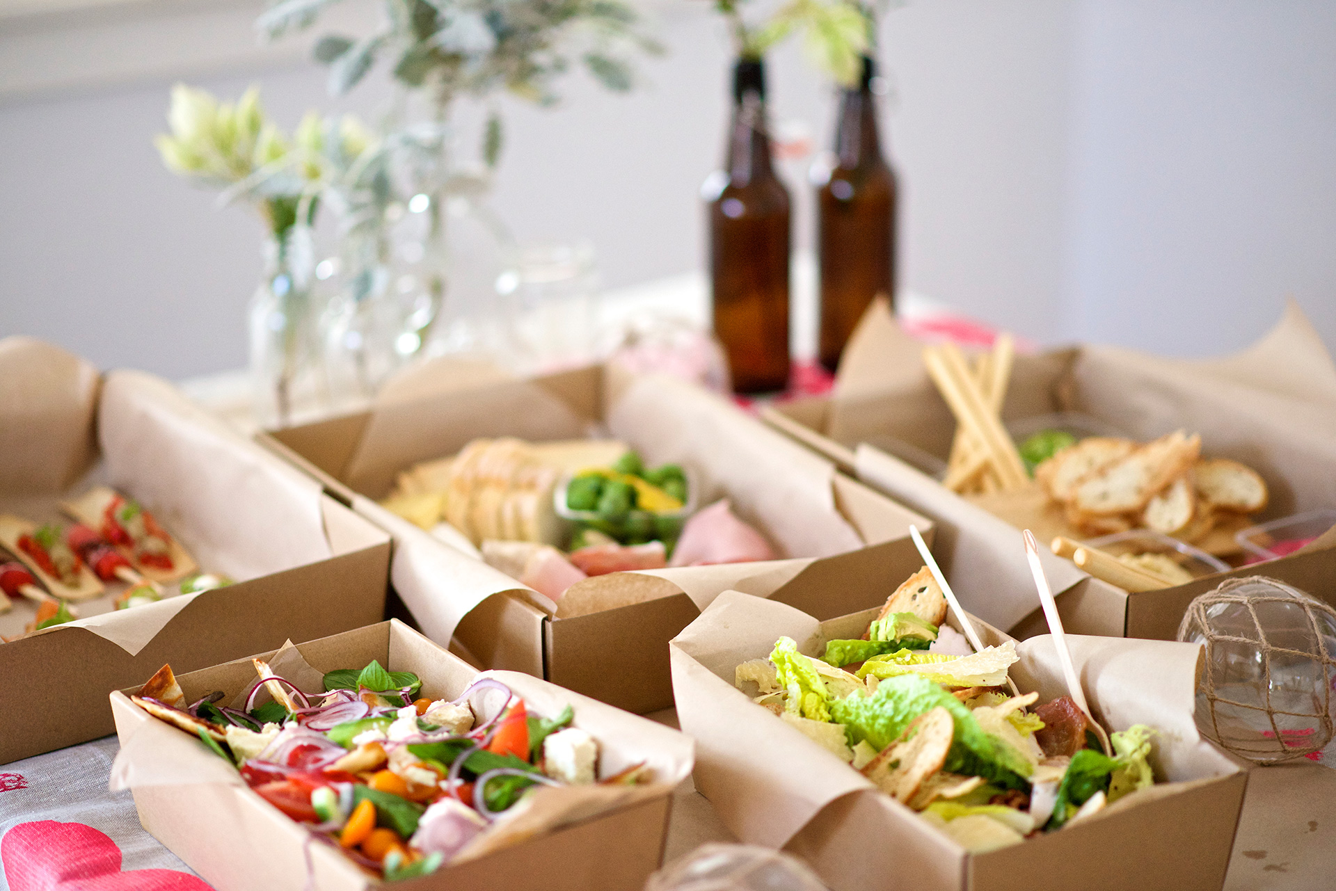 The Dropp gourmet food catering in Sydney